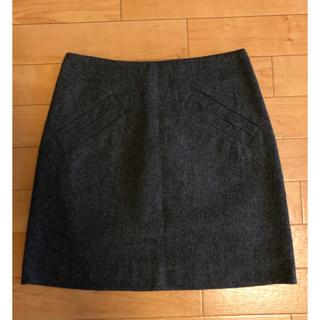 エイチアンドエム(H&M)のH&M 50%ウールスカート(ミニスカート)