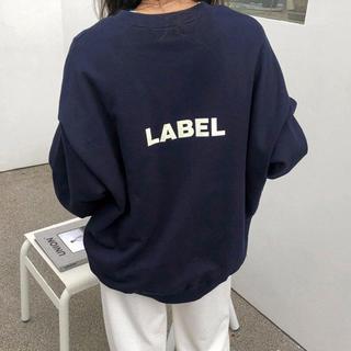 FRAY I.D - 【年末SALE❤️】LABEL トレーナー スウェット