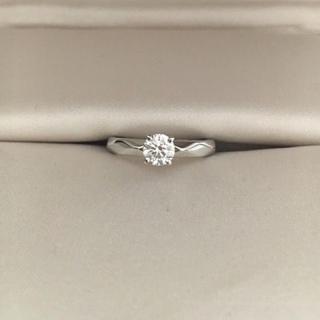 ブシュロン(BOUCHERON)のブシュロン ダイヤモンド ファセット リング Pt950 0.45ct 4.7g(リング(指輪))