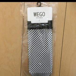 ウィゴー(WEGO)のWEGO ネットソックス 23〜25cm 靴下 くつ下 新品(ソックス)
