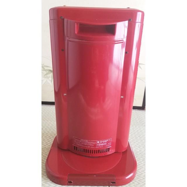 ナショナル電気ストーブ DS-804 レッド スマホ/家電/カメラの冷暖房/空調(電気ヒーター)の商品写真