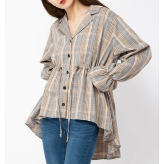 セシルマクビー(CECIL McBEE)の美品♡CECIL McBEE セシルマクビー ドロストシャツ(シャツ/ブラウス(長袖/七分))
