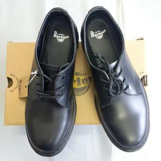 ドクターマーチン(Dr.Martens)のuk6.5 Dr.Martens ブラック正規品 革靴 メンズ1461 3ホール(ドレス/ビジネス)