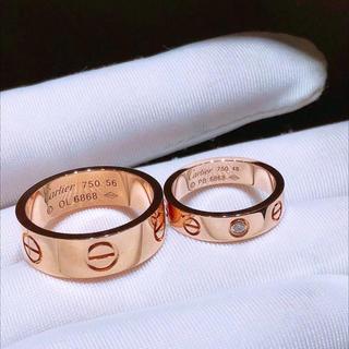 カルティエ(Cartier)のカップルの指輪(リング(指輪))