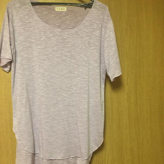 パープルTシャツ (Tシャツ(半袖/袖なし))