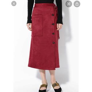 ROSE BUD - ROSEBUD スエードスカート