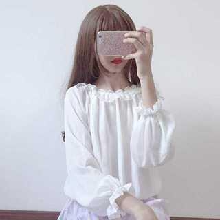 シャツブラウス レディース夏 新作可愛い 原宿少女Mz005(シャツ/ブラウス(半袖/袖なし))