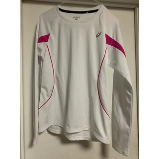 アシックス(asics)のアシックス レディース Lサイズ スポーツロングTシャツ(Tシャツ(長袖/七分))