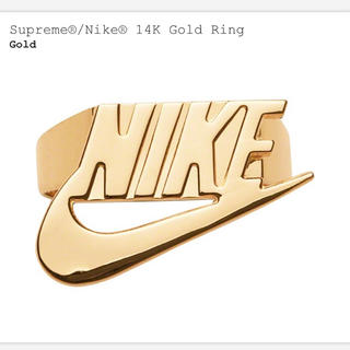 Supreme - 新品未使用 Supreme NIKE 14K Gold Ring 5.5