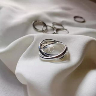 インディアン(Indian)のTriple silver ring No.90(リング(指輪))