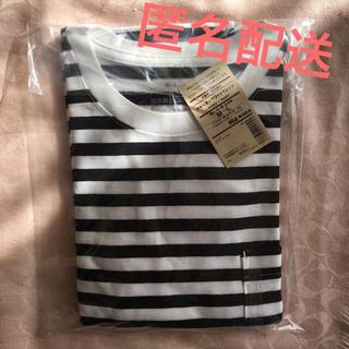 MUJI (無印良品) - 無印良品 クルーネックワイドTシャツ 新品