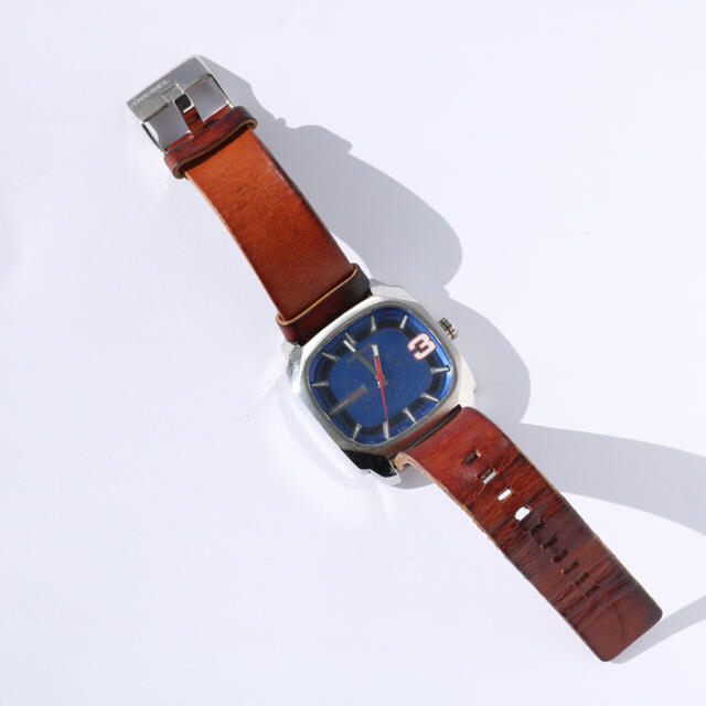 ブルガリ bb38ss 、 DIESEL - DIESEL レザーベルト腕時計の通販 by しゅんぞー's shop