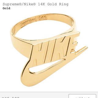 Supreme - 新品未使用 Supreme NIKE 14K Gold Ring 7.0