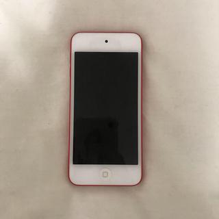 アップル(Apple)のipod touch red(ポータブルプレーヤー)