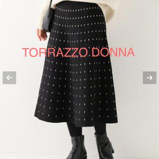 IENA - 新品タグ付き◆トラッゾドンナニットスカート