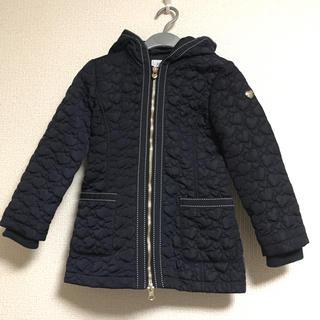 アルマーニ ジュニア(ARMANI JUNIOR)の美品 アルマーニジュニア キルティングコート ネイビー 106cm(コート)
