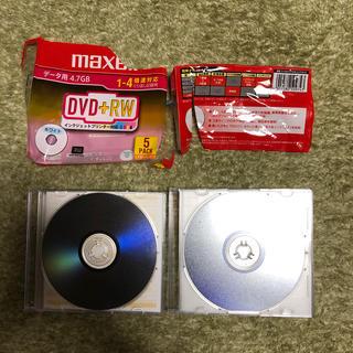 マクセル(maxell)のmaxell DVD-RW データ用4.7GB 5枚(PC周辺機器)