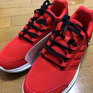 アディダス(adidas)のadidas(レッド/ブラック)【Mens/25.5/新品】(スニーカー)