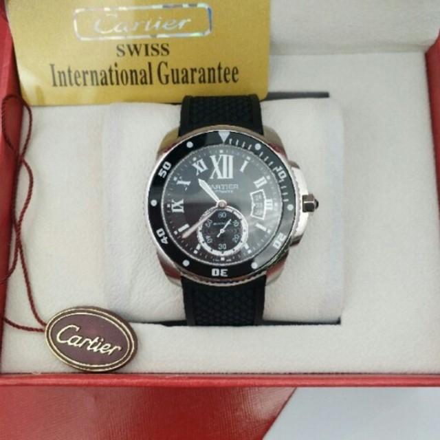 ロレックス 時計 レディース コピー - Cartier - 自動巻き機械表の通販 by $広川's shop