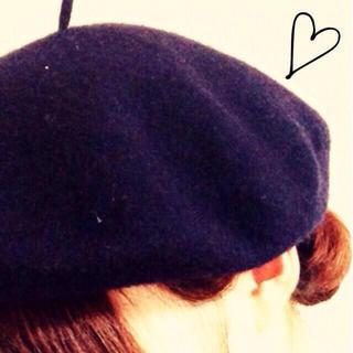 ムジルシリョウヒン(MUJI (無印良品))の無印良品  ベレー帽(ハンチング/ベレー帽)