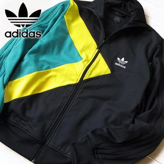 アディダス(adidas)の美品 Mサイズ アディダス 90's メンズ ジャージ/ジャケット ブラック(ジャージ)