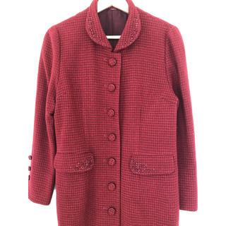 【美品】ヴィンテージ♥赤いコート(ロングコート)