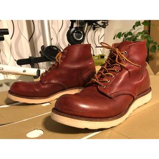 レッドウィング(REDWING)のレッドウィング 8166 赤茶 27.5cm US9 1/2D(ブーツ)