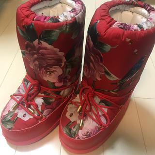 ドルチェアンドガッバーナ(DOLCE&GABBANA)のdolce&gabbana ブーツ 値下げok(ブーツ)