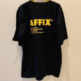 AFFIX ロゴTシャツ 美品(Tシャツ/カットソー(半袖/袖なし))