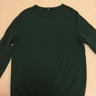 ユニクロ(UNIQLO)のメリノウール セーター(ニット/セーター)