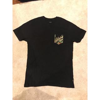 ハフ(HUF)のハフ HUF Tシャツ メンズ 黒 ボタニカル(Tシャツ/カットソー(半袖/袖なし))