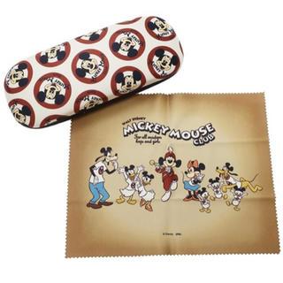 ミッキーマウス(ミッキーマウス)のミッキーマウス クロス付きメガネケース/MICKEY MOUSE CLUB(サングラス/メガネ)