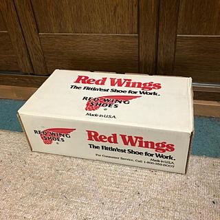 レッドウィング(REDWING)のレッドウィングRED WINGブーツBOX空箱収納やインテリアにオススメ(ブーツ)