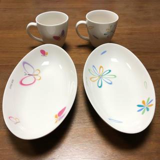 ハナエモリ(HANAE MORI)のハナエモリのカップとお皿の2点セット(食器)