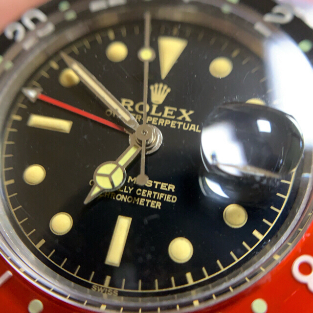 cartier タンク ソロ | ROLEX - サークルミラー GMT 6542 修理用ケース部品セットの通販 by chibi1019's shop
