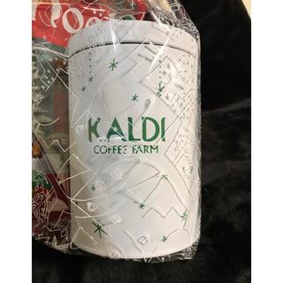 カルディ(KALDI)のカルディ オリジナル星柄キャニスター缶2019(容器)