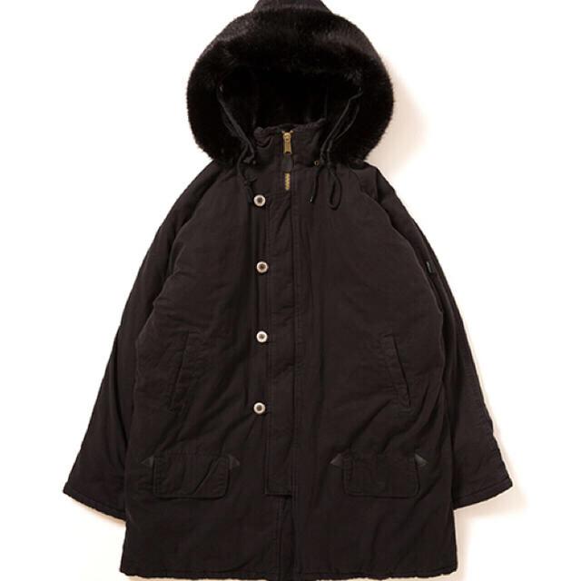 APPLEBUM(アップルバム)のAPPLEBUM N-3B Jacket サイズ:XL     カラー:ブラック メンズのジャケット/アウター(ミリタリージャケット)の商品写真