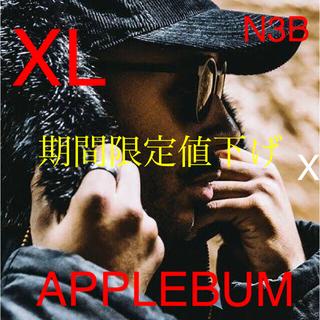 アップルバム(APPLEBUM)のAPPLEBUM N-3B Jacket サイズ:XL     カラー:ブラック(ミリタリージャケット)