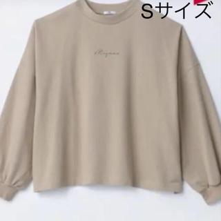シマムラ(しまむら)のプチプラのあや  ロゴT Sサイズ(Tシャツ(長袖/七分))