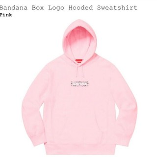 Supreme Bandana Box Logo Hooded Mサイズ(パーカー)
