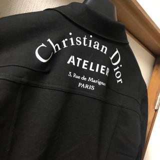 クリスチャンディオール(Christian Dior)のChristian Dior アトリエ デニムジャケット(Gジャン/デニムジャケット)