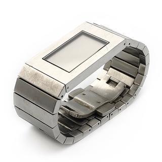 ローゼンダール(ROSENDAHL)のROSENDAHL ローゼンダール メンズ 腕時計 シルバー スクエア デジタル(腕時計(デジタル))