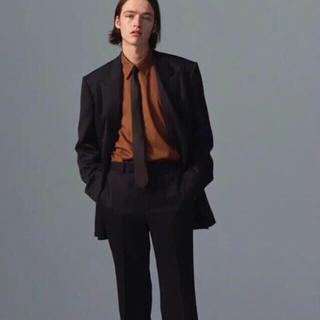 ジョンローレンスサリバン(JOHN LAWRENCE SULLIVAN)のlittle big ブラウンシャツ(シャツ)