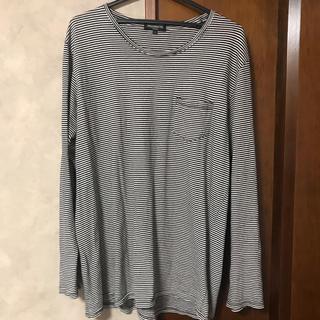 ピースマイナスワン(PEACEMINUSONE)のジヨン着用 pragmatic ロンt(Tシャツ/カットソー(七分/長袖))