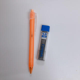 コクヨ(コクヨ)のコクヨ KOKUYO シャープペン 1.3mm PS-FP101 オレンジ(ペン/マーカー)