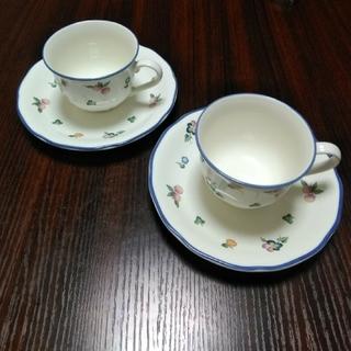 ミカサ(MIKASA)のミカサ(MIKASA)☆ ティーカップ&ソーサー2客(グラス/カップ)