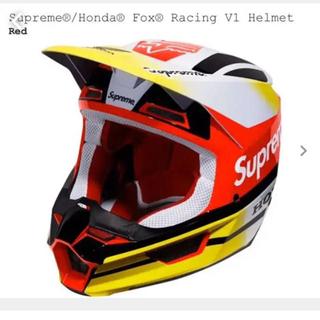 シュプリーム(Supreme)のsupreme fox honda ヘルメット XL ゴーグルセット(ヘルメット/シールド)