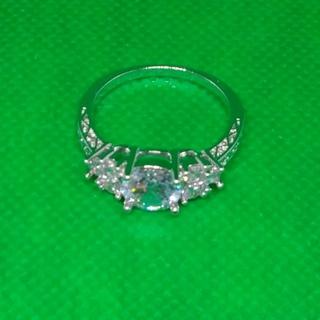 ダイヤモンド ホワイト サファイアリング 22号(リング(指輪))