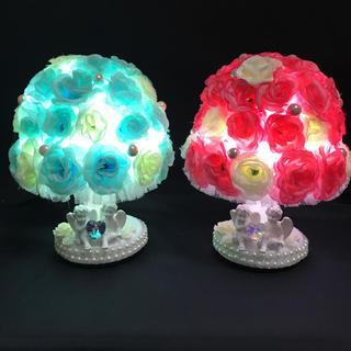 エンジェル 天使 バラ ローズ 薔薇 アンティーク調ライト ランプ  間接照明 (その他)