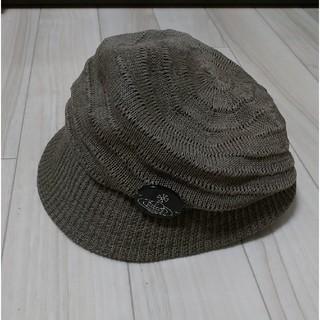 ヴィヴィアンウエストウッド(Vivienne Westwood)のヴィヴィアン 帽子 キャスケット ハット カーキ(キャスケット)